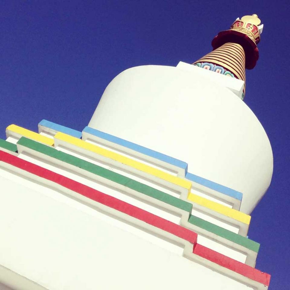 stupa crown